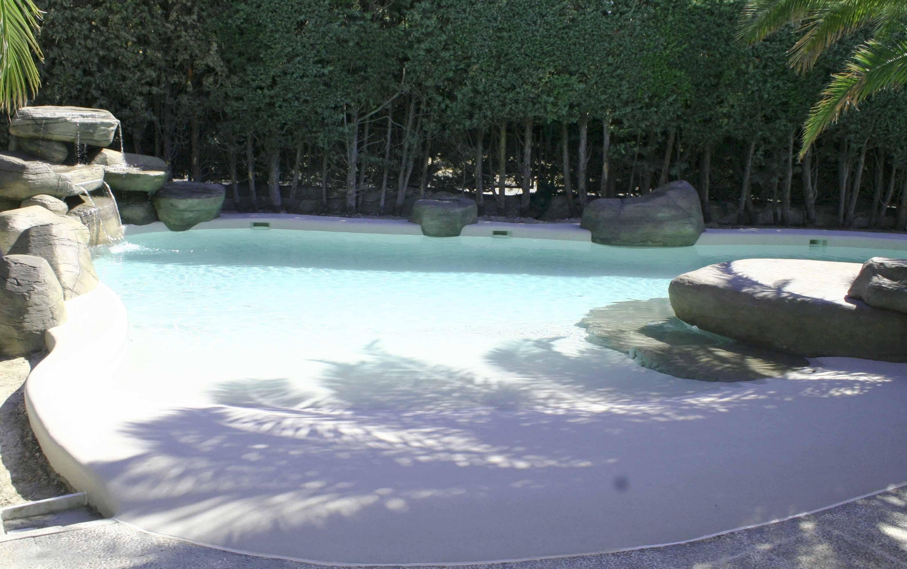 Piscina de arena one dream art for Playa piscina