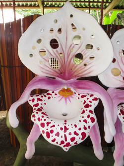 Lavamanos de diseño orquidea