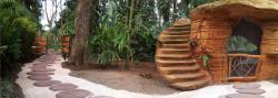 Diseño organico en ferrocemento